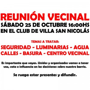 Reunion Vecinal 2014-20-25