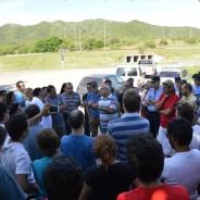 Reunión de vecinos con autoridades municipales y policiales