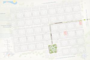 Plano de como llegar a la Plaza de la 2da Sección de Villa San Nicolás (Malagueño)