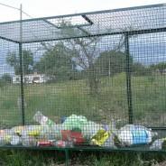Cesto para reciclado de envases PET
