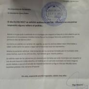 Silencio del municipio ante pedido de audiencia
