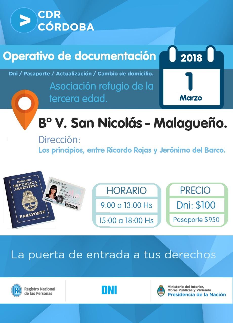 Unidad Portátil del Registro Nacional de las Personas | Villa San ...
